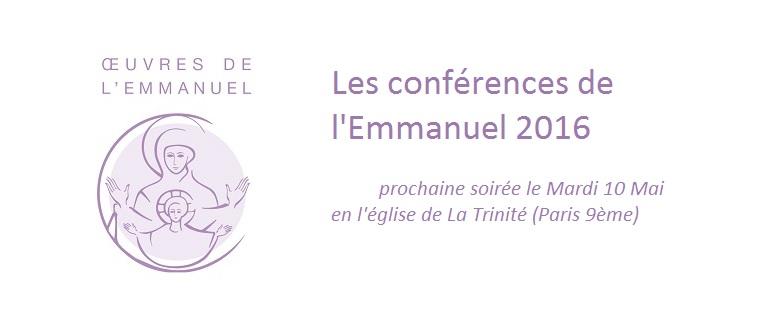 Conférence de l'Emmanuel Soirée Vocation ISF